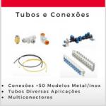 tubos e conexões pneumáticas smc