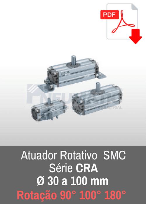 Atuador rotativo SMC CRA