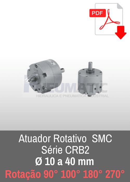 Atuador rotativo SMC CRB