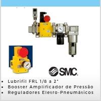 Lubrifil FRL/ Controle de Pressão